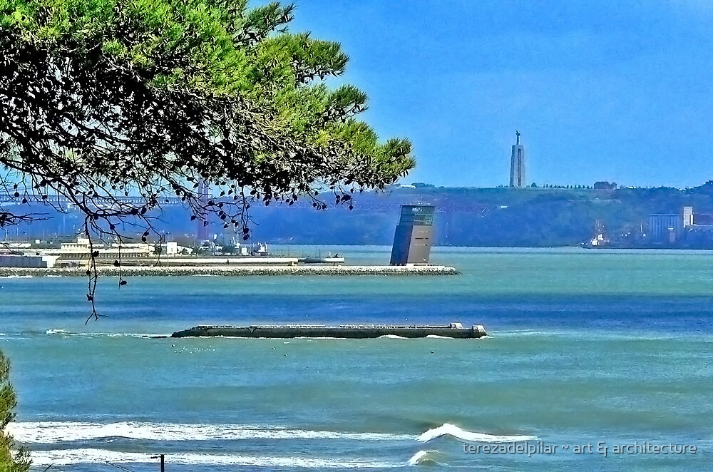 Tagus river by terezadelpilar ~ art & architecture