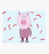 CANIBAL PIG Photographic Print
