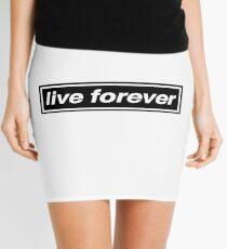 Live Forever - OASIS Band Tribute Mini Skirt