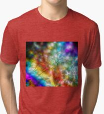 Psychedelic Storm Tri-blend T-Shirt