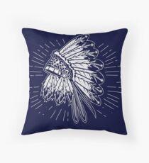 Native American 2 Throw Pillow