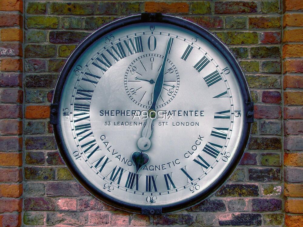 The Shepherd Gate Clock by A90Six