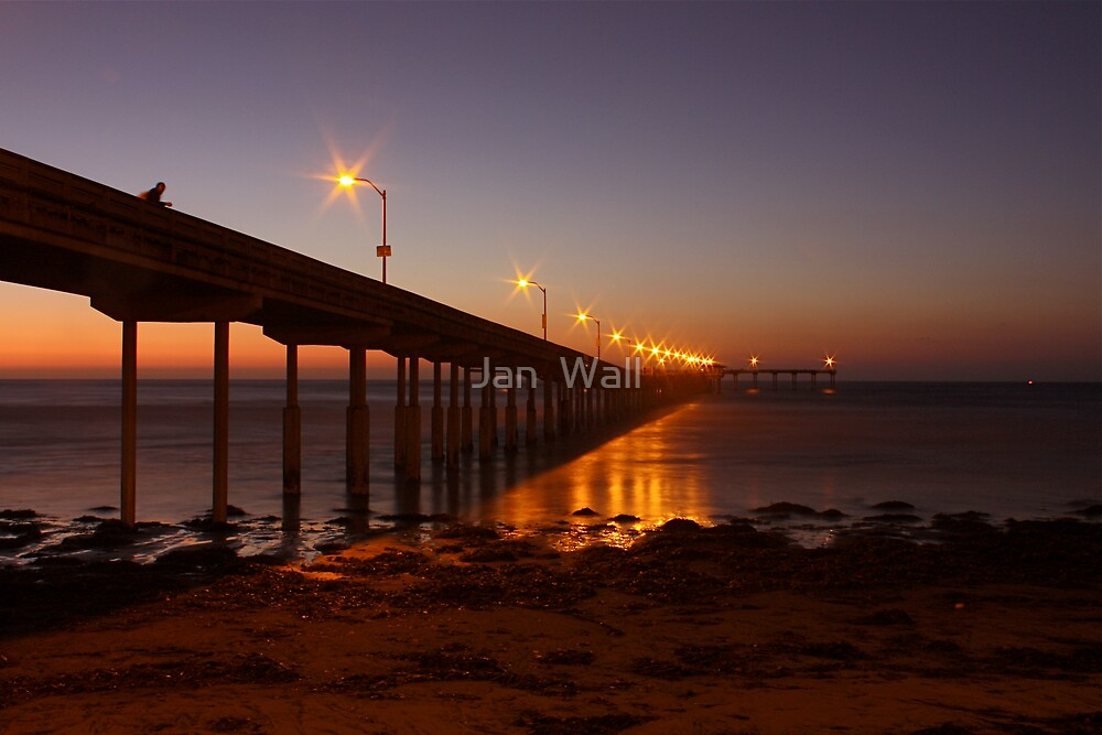 Ocean Beach Pier by Jan  Wall