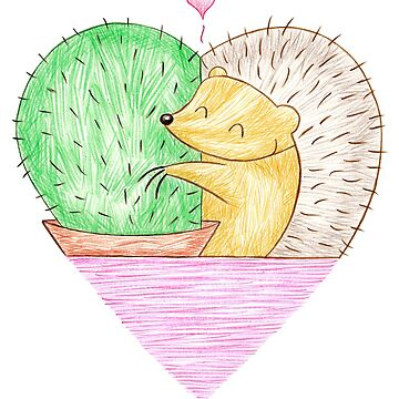 A Hog's Life - Hog Loves Cactus by shiro