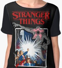 Stranger Things Animated Series Chiffon Top