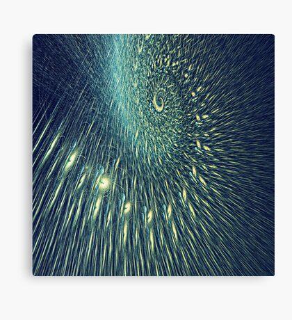 Fractal rain Canvas Print