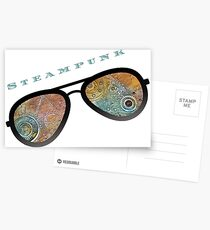 STEAMPUNK SUNGLASSES  Postcards