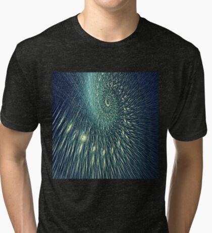 Fractal rain Tri-blend T-Shirt