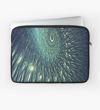 Fractal rain Laptop Sleeve
