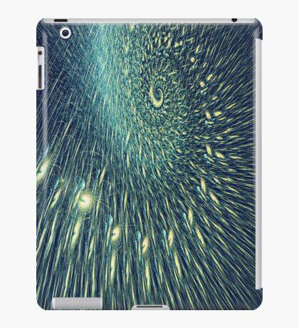 Fractal rain iPad Case/Skin