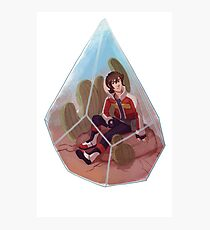 Paladin Terrarium - Red Photographic Print