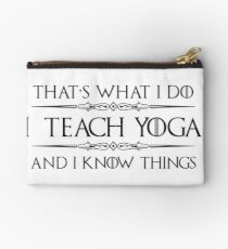Gift Ideas for Yoga Teacher - Gifts for Yoga Teachers and Instructors Studio Pouch
