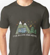Campervan: 5 Billion Star Hotel Camping Gift Unisex T-Shirt