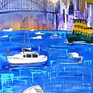 Harbour in Summer by Shona Baxter
