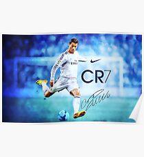 Cristiano Ronaldo Zeichen Poster