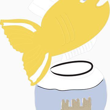 Big Fish, Little Bowl by karacounard
