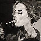 Smoking Lady  by Katie  McNeice