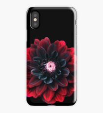 Blood Red Dalia  iPhone Case
