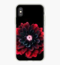 Blood Red Dalia  iPhone Case