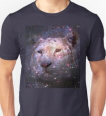 Tiger and Galaxy Unisex T-Shirt