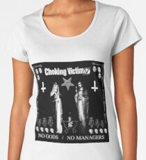 Choking Victim - No Gods / No Managers Women's Premium T-Shirt