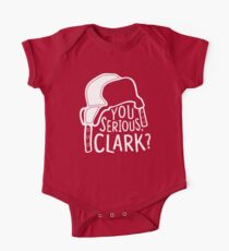 You serious, Clark? Cousin Eddie Short Sleeve Baby One-Piece