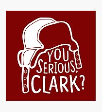 You serious, Clark? Cousin Eddie Photographic Print