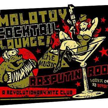 Molotov Cocktail Lounge by HeartattackJack