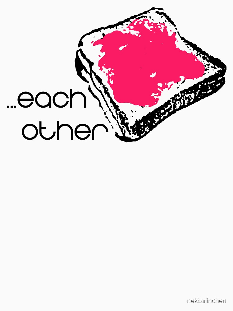Made for each other (PBJT) - Couple Shirt by nektarinchen