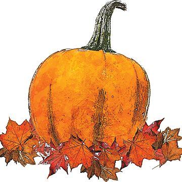 Pumpkin Art by MarkelArt