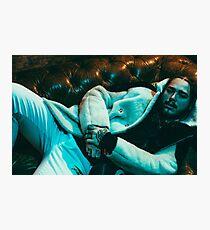 Post Malone Rockstar White Iverson Photographic Print