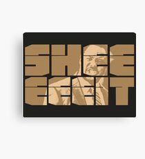 The Senator's Sheeeit Canvas Print