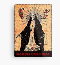 Narco Cultura Metal Print
