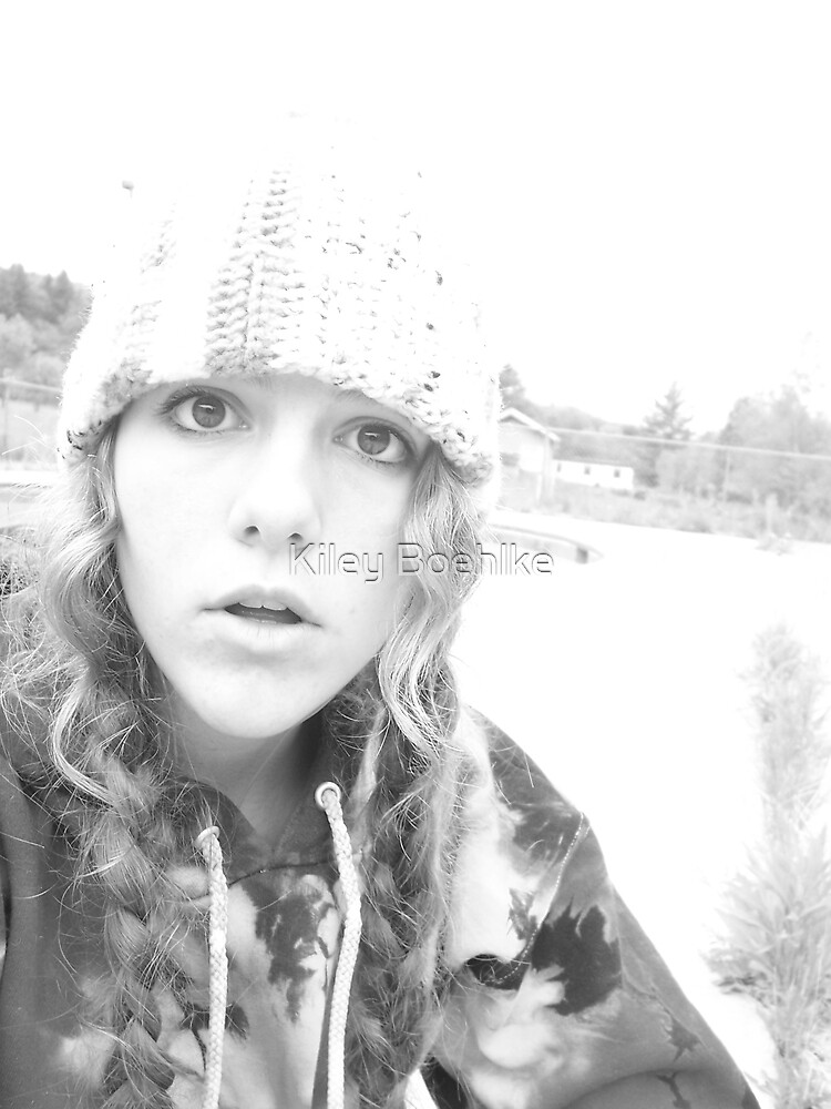 Myself. by Kiley Boehlke