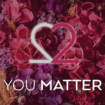 You Matter Romantic Red Greeting Cards & Postcards by Choose2Matter