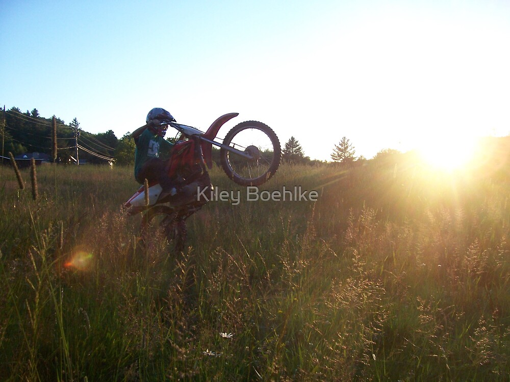 Sunsets and Wheelies. by Kiley Boehlke