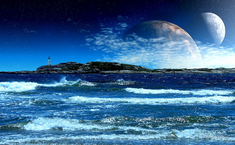 The Rising of the Sea by AlienVisitor