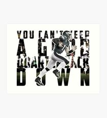 You Can't Keep A Good Quarterback Down / Carson Wentz / 23rd October Philadelphia Eagles vs Washington Redskins Art Print