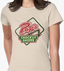 Pop's Chock'lit Shoppe (Light) Women's Fitted T-Shirt