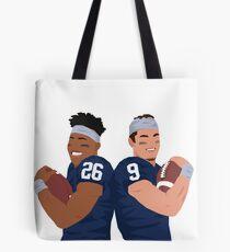 Saquon & Trace Tote Bag