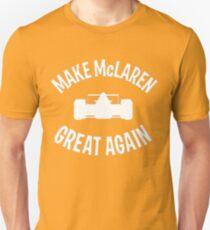 Make McLaren Great Again - white Unisex T-Shirt