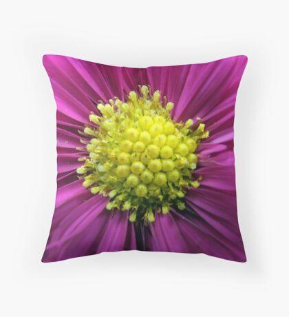 Pink Pollen Pillow Throw Pillow