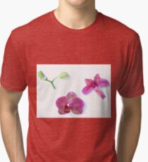 Orchid Life Cycle Tri-blend T-Shirt
