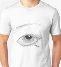 A Vision in Black & White Unisex T-Shirt