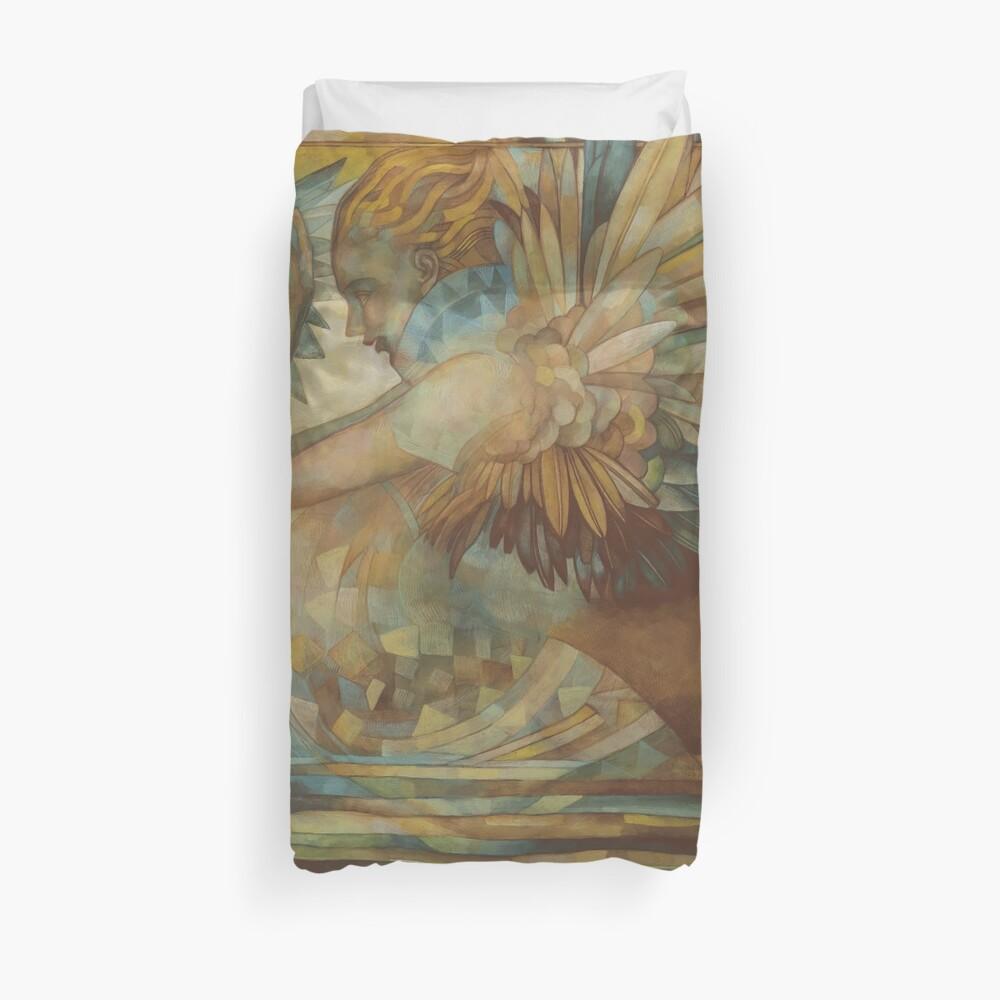 Mermaid - weird  wonderful creatures Duvet Cover