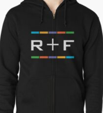 dark grey rodan and fields color branding gift Zipped Hoodie
