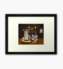 Milk Bar Framed Print