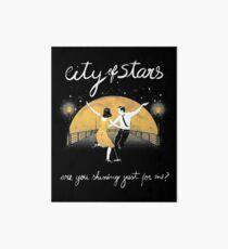 The City of Stars Reflection Art Board