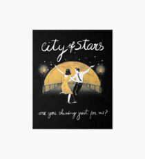 The City of Stars Reflection Art Board