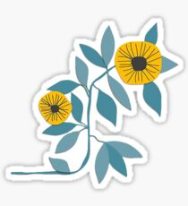 The Sun and Her Flowers Sticker